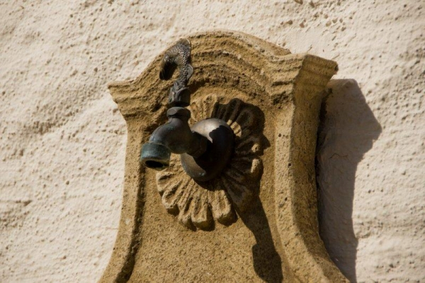 Skulptur Brunnen