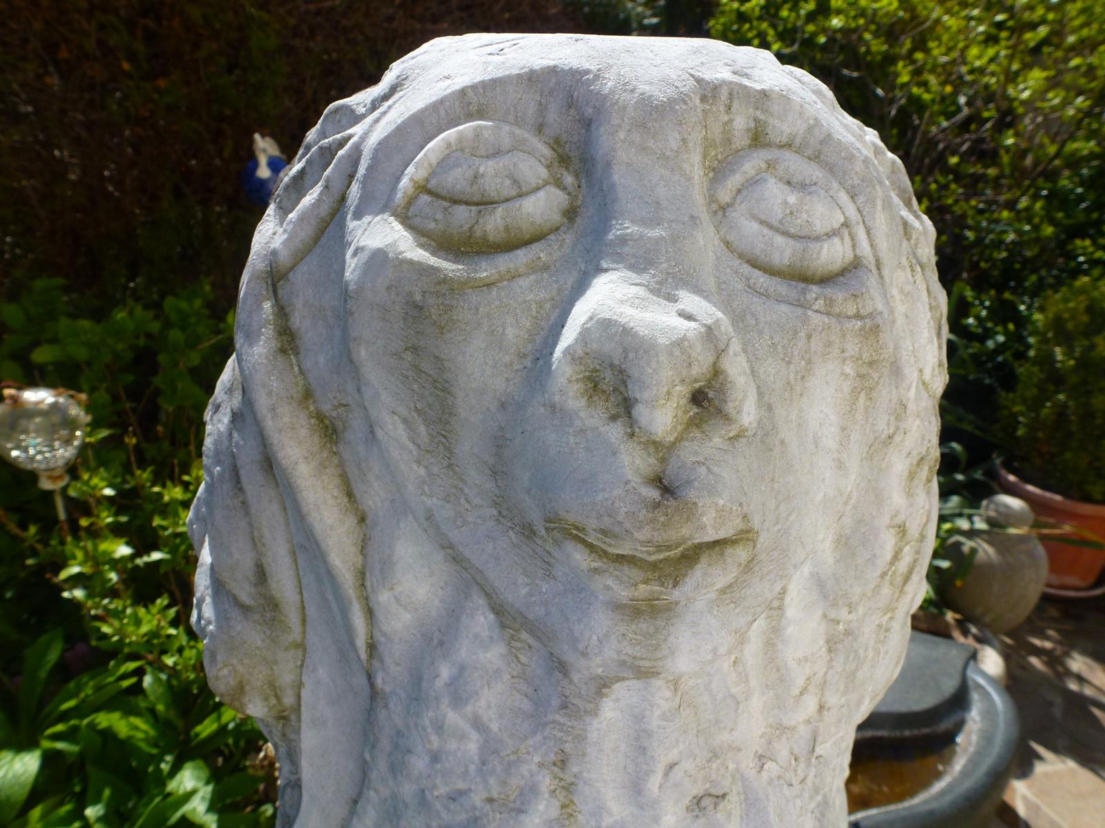 Skulptur aus Stein